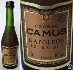CAMUS-NAPOLEON -EXTRA OLD -5cl.40%