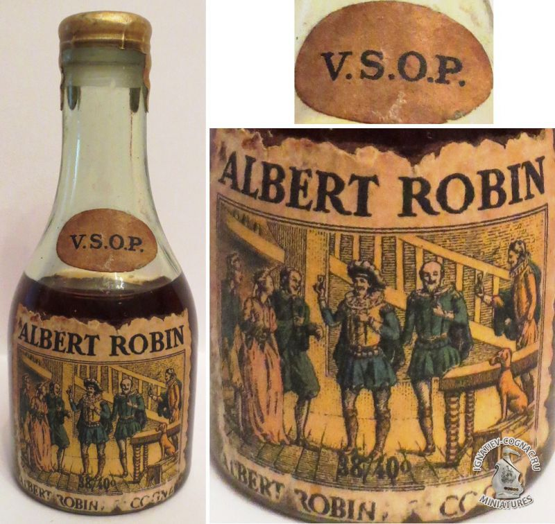 ALBERT ROBIN -VSOP (30ml.) -1024