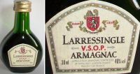 LARRESSINGLE -VSOP-30ml.40% -3393