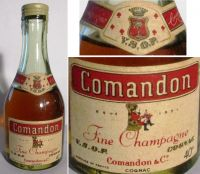 COMANDON -VSOP-40%(50ml.) -4456