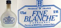 De Montal-BLANCHE-50ml. 43%-3536