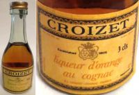 CROIZET-liqueur d`orange-3cls.40%-4814