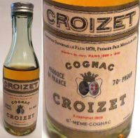 CROIZET-(50ml.)70PROOF.-4815