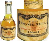 C.V.P.-PRIVATE STOCK-25Years Old-(30ml.)-5874