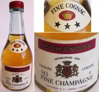 COMANDON-xxx -4,5cl.40%-5132