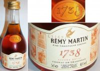 REMY MARTIN -1738-5cl.40% -0616