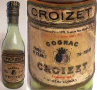 CROIZET-(50ml.)70PROOF.-1105